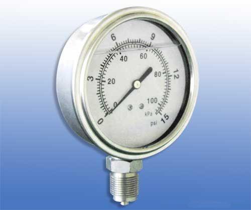 150系列不銹鋼精密壓力表